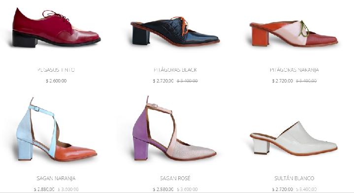 女鞋小店设计装修图